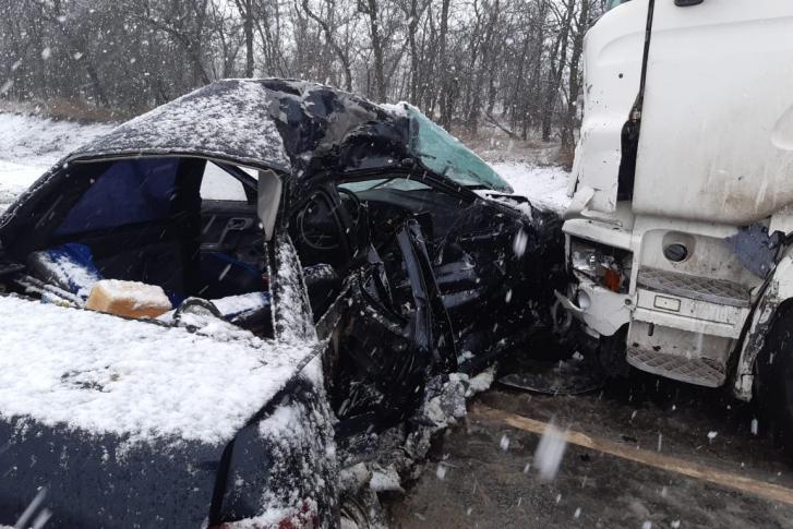 Авария на трассе — погибли две женщины
