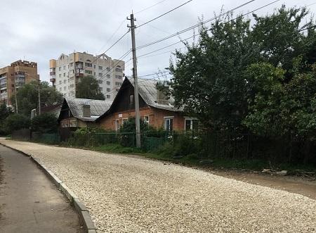 В Таганроге ремонтируют 2-й переулок