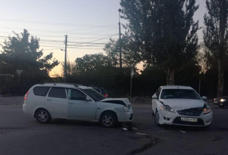 В Таганроге в ДТП пострадала пассажирка