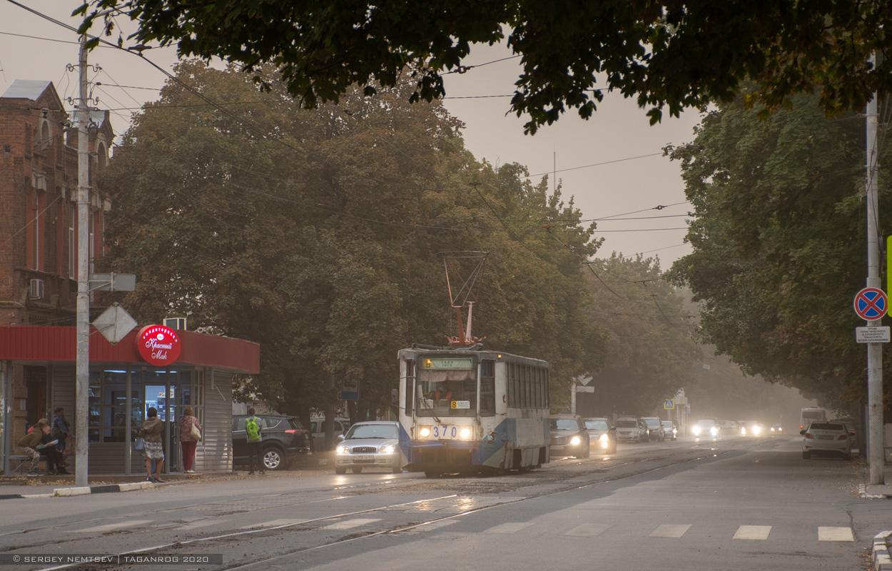 В Таганроге сохраняется штормовое предупреждение