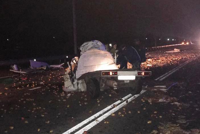 В ДТП с автобусом погибли два человека