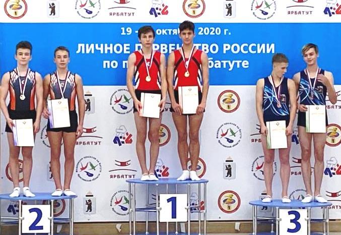 Батутисты Таганрога победили на первенстве России