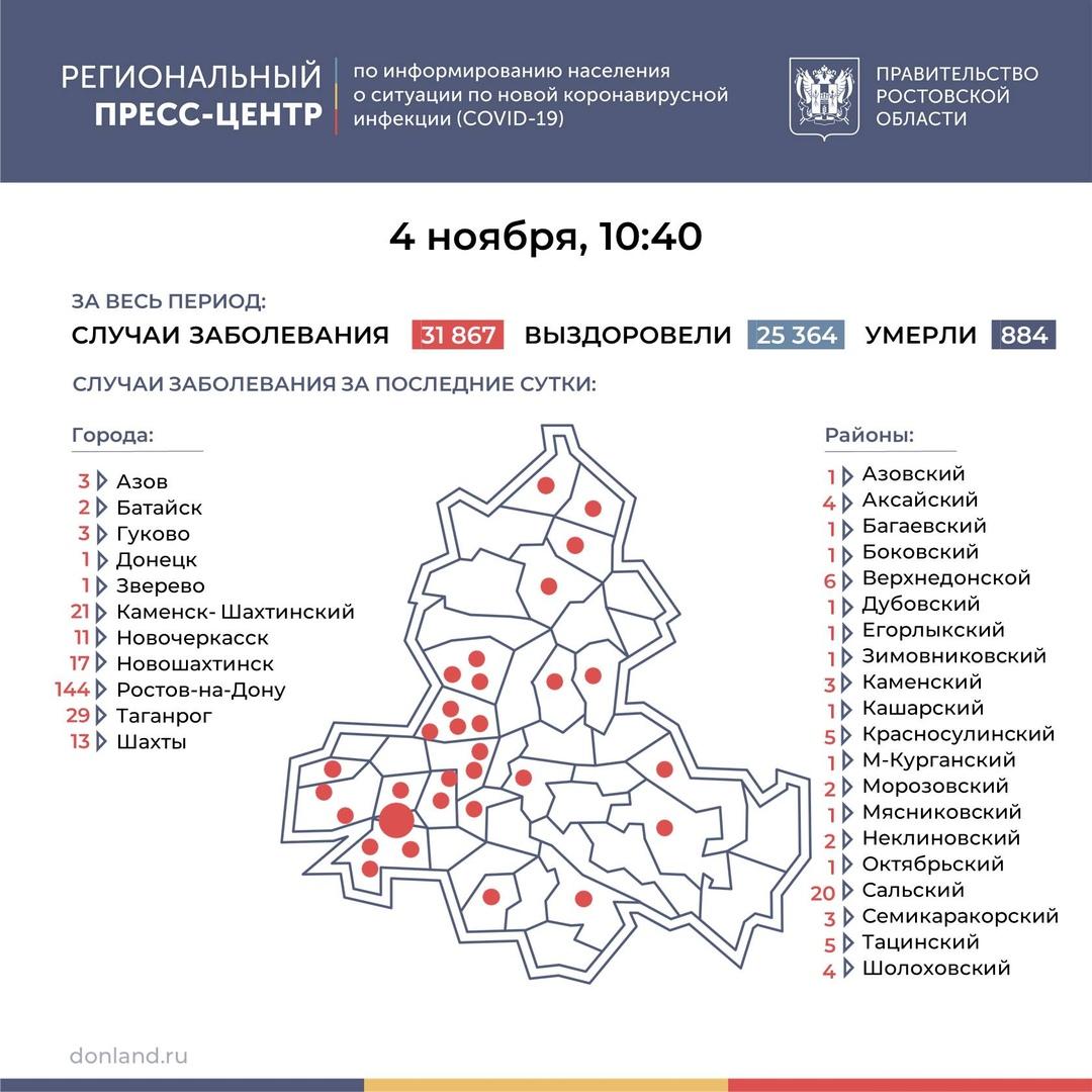 Коронавирус: в Таганроге — 29 заболевших
