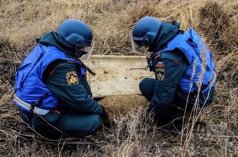 Ростовские пиротехники обезвредили авиабомбу