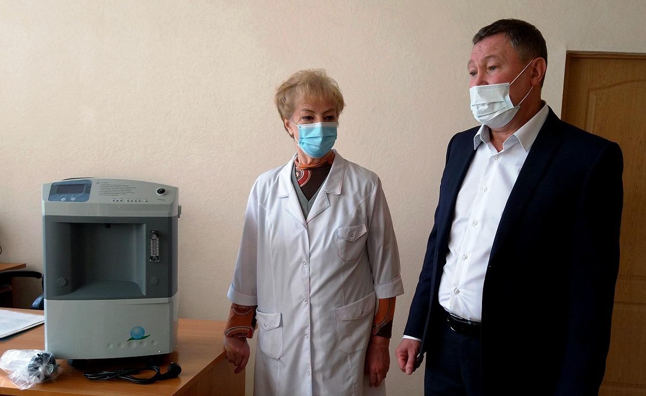 Медучреждения Таганрога получили оборудование и средства защиты