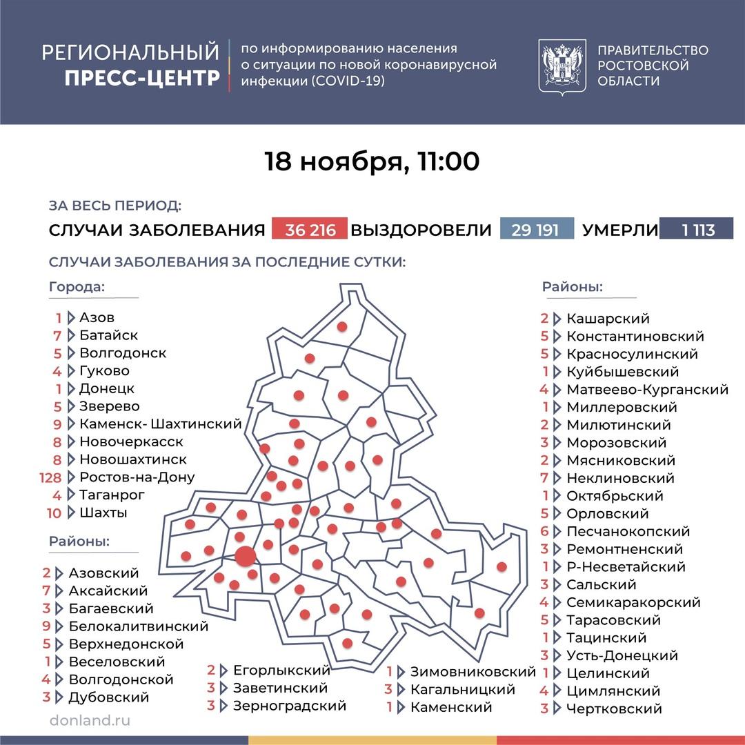 Коронавирус: в Таганроге заболели еще четыре человека