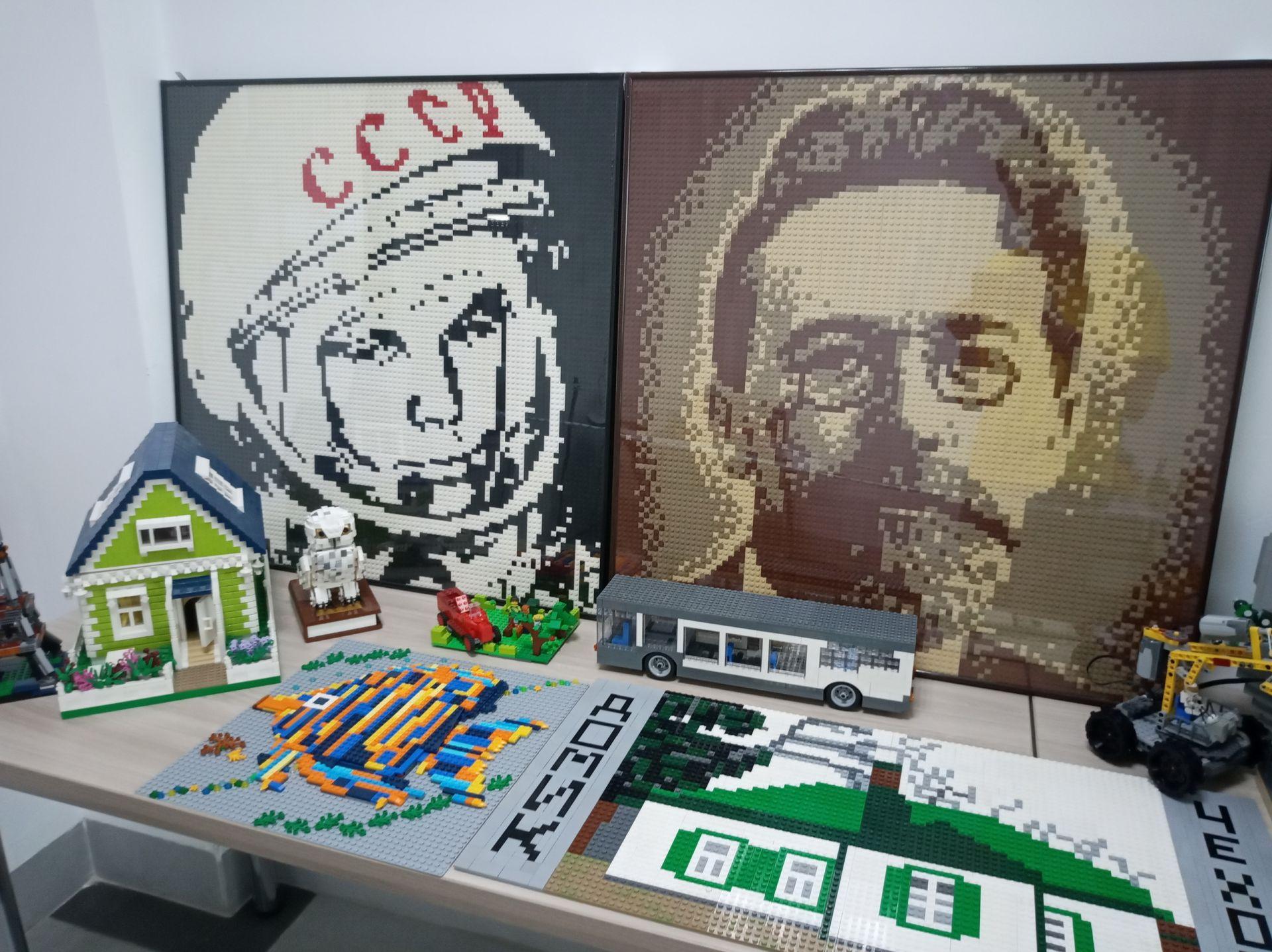 В Таганроге появилась первая в стране лего-мастерская