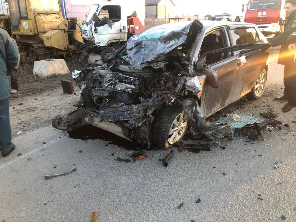 В ДТП на донской трассе пострадал водитель