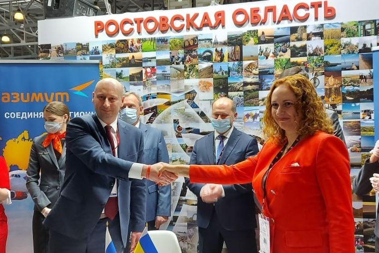 «Поезд-отель» доставит туристов в Ростовскую область