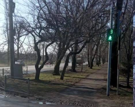 В Таганроге установили дополнительные светильники