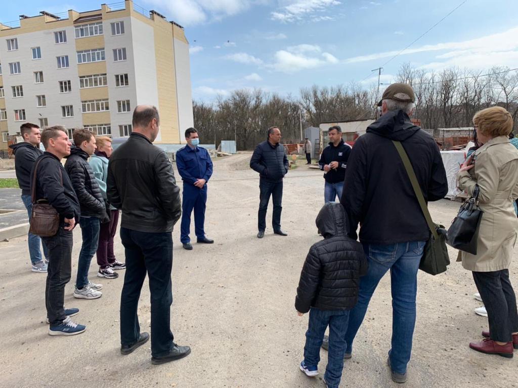 Строительство дома в Таганроге — под контролем прокуратуры
