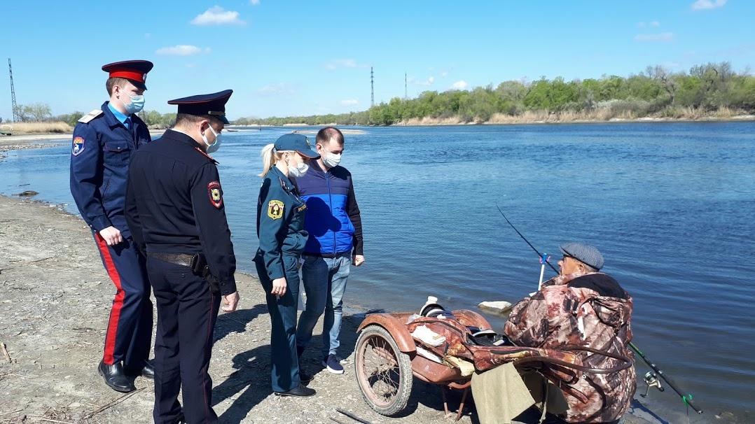 В Ростовской области работают противопожарные патрули