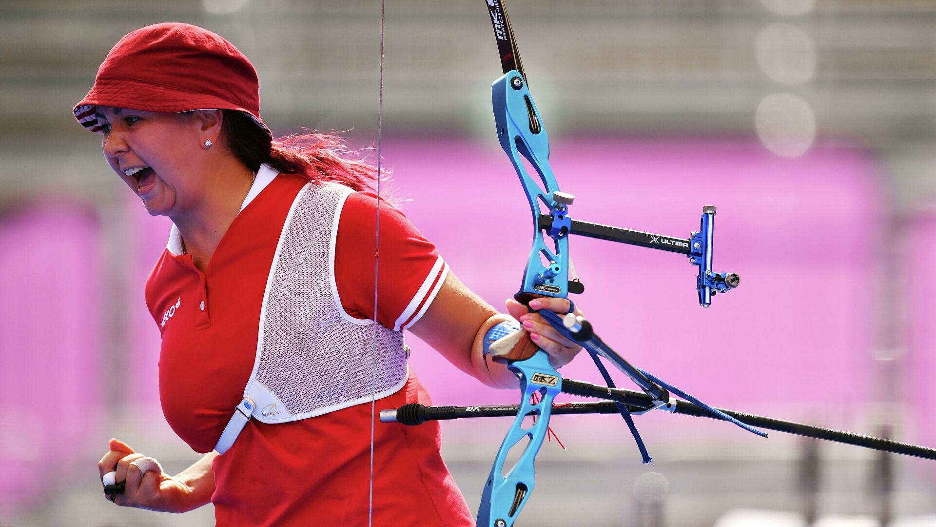 Лучница из Таганрога завоевала вторую олимпийскую медаль