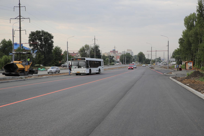 Сегодня мост на Малиновского открыли для движения машин