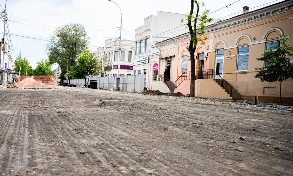В Таганроге возобновят работы на ул. Петровской