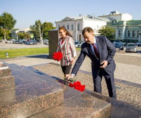 Таганрог отмечает День освобождения от немецко-фашистских захватчиков