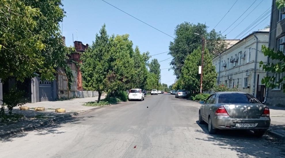 В Таганроге отремонтировали дорогу в переулке Лермонтовском