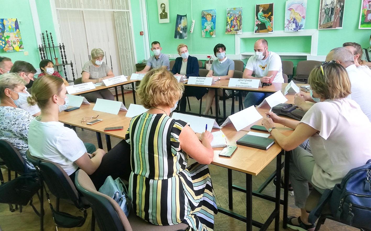 В Таганроге планируют создать ресурсный центр для общественников