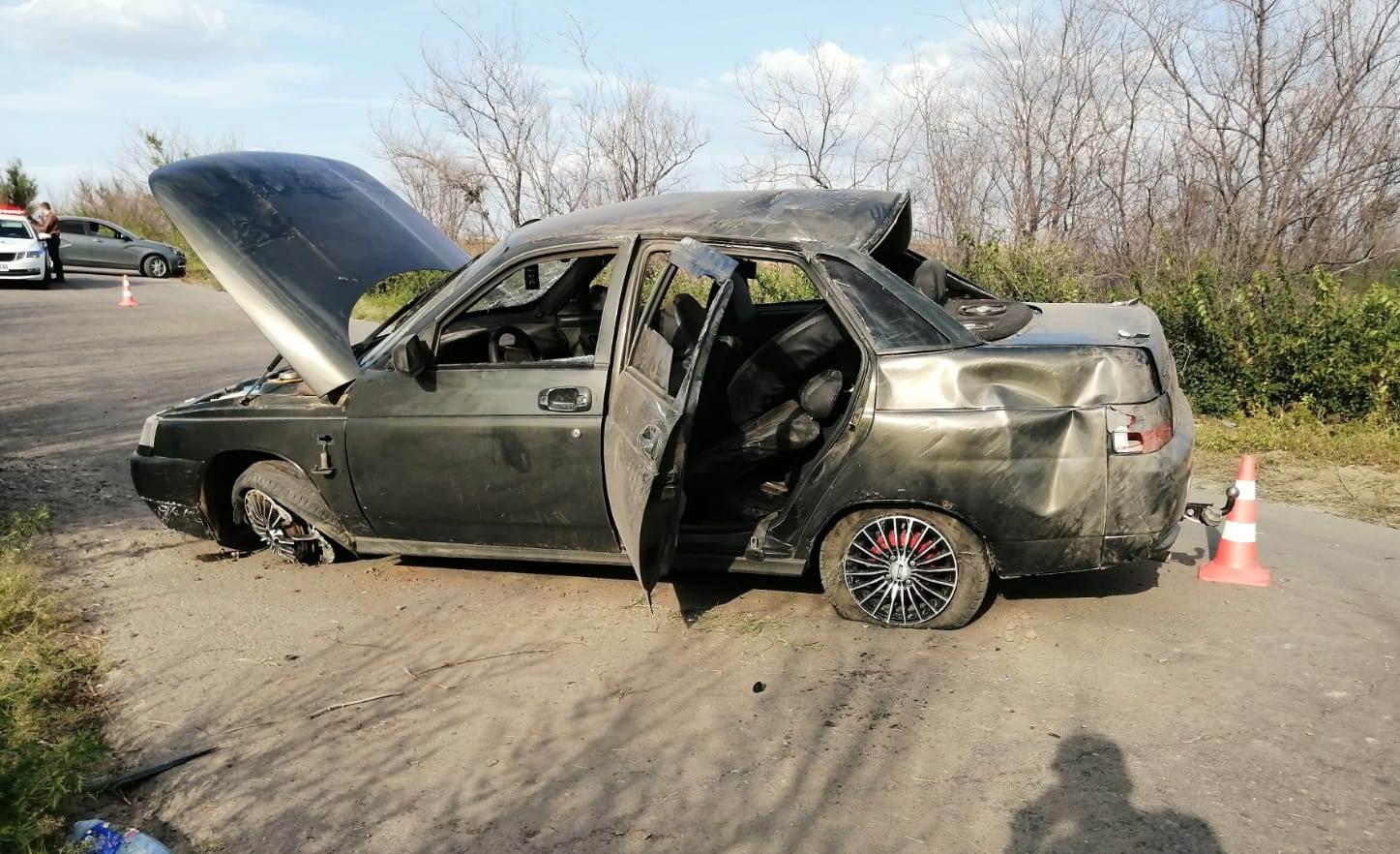 В Ростовской области в аварии погиб подросток