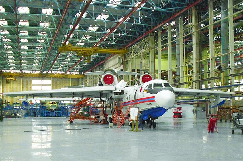 Военно-промышленная комиссия проинспектировала таганрогский авиазавод