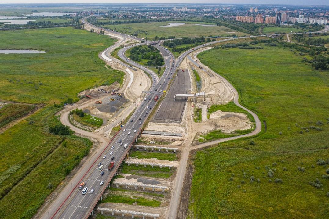 Продолжается строительство Южного подъезда к Ростову-на-Дону