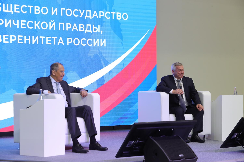 Глава МИДа России посетил Ростовскую область