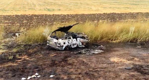 Три человека сгорели в ДТП на донской трассе