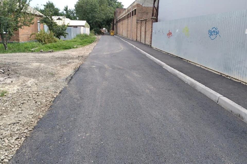 В Таганроге отремонтировали дорогу на ул. Московской