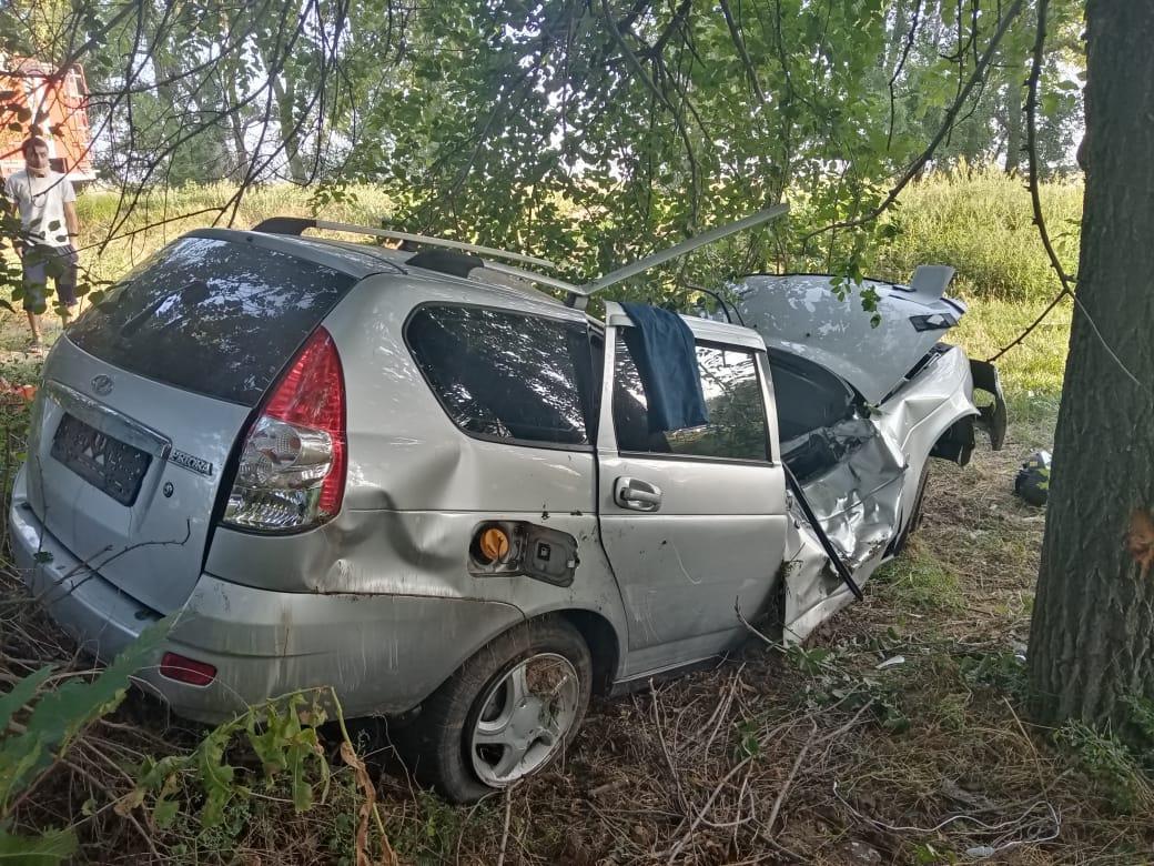 Погиб водитель: автомобиль слетел с трассы