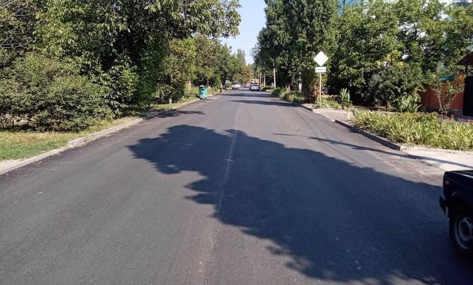 В Таганроге завершен ремонт трех дорог