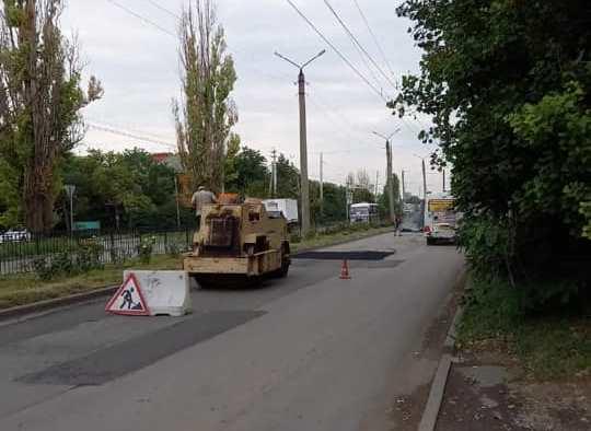 В Таганроге отремонтировали две дороги