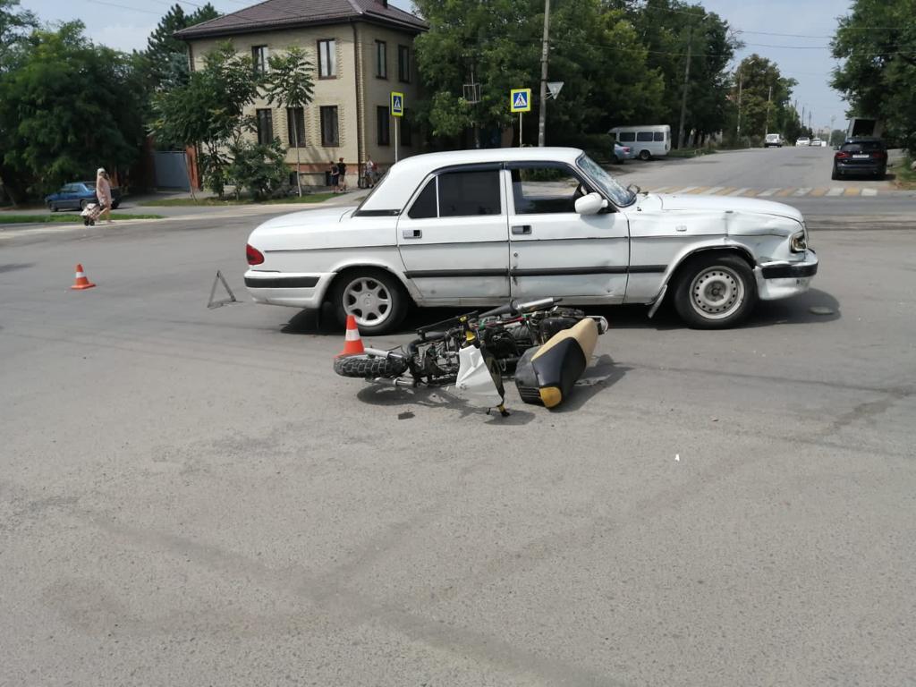 В Ростовской области подросток устроил ДТП