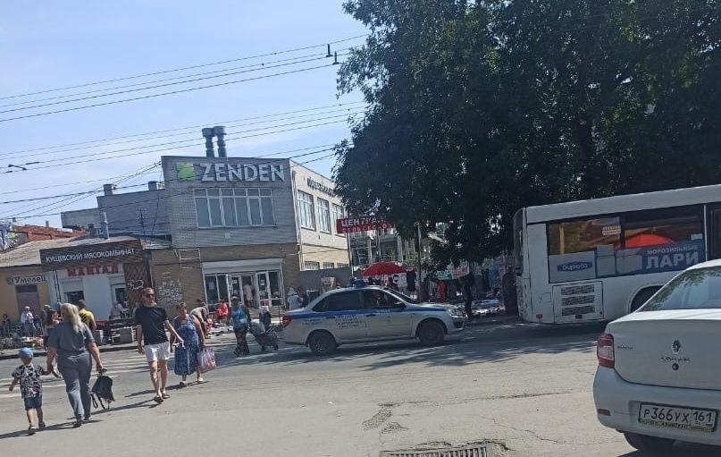 Сегодня в Таганроге автобус сбил пешехода