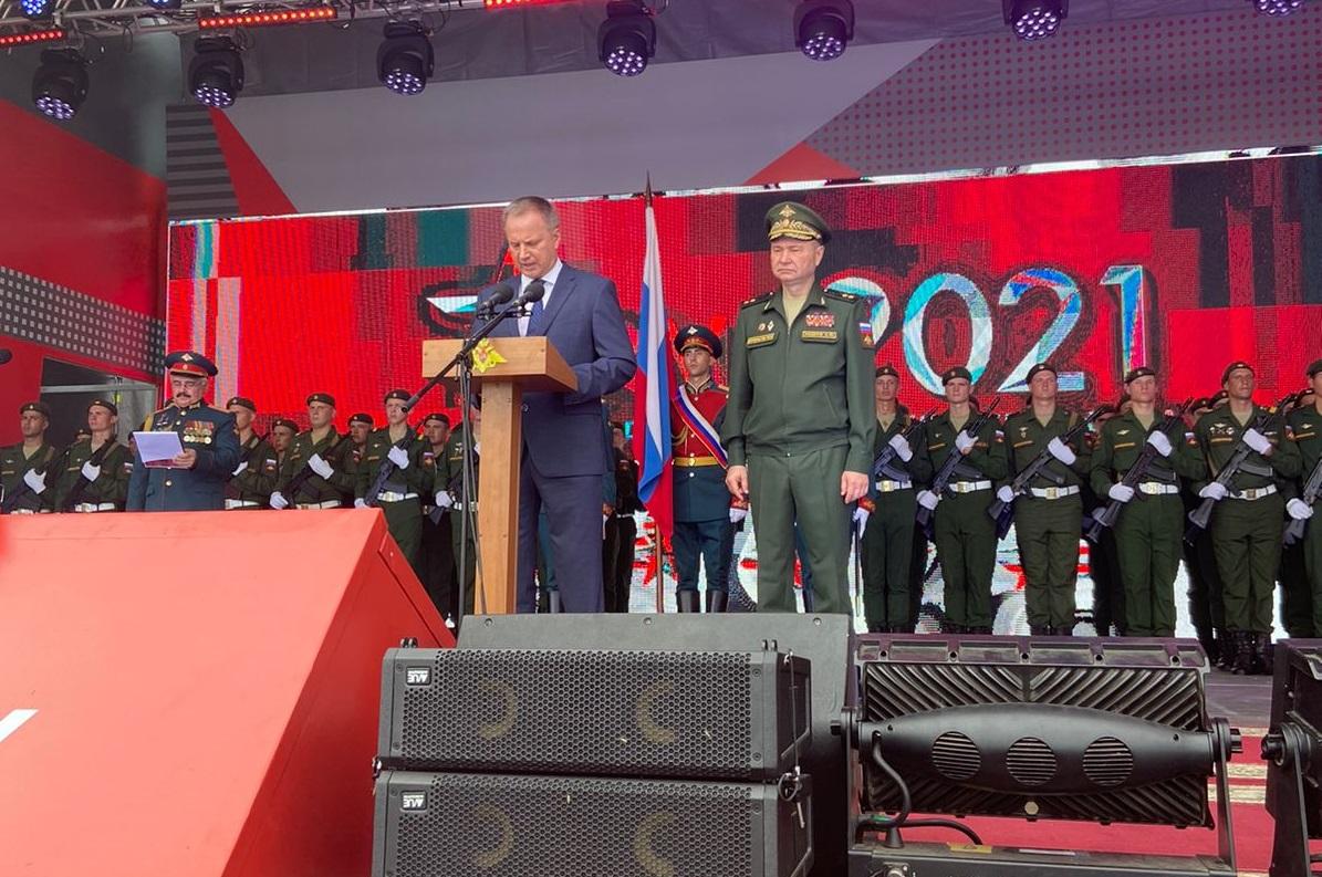 Под Таганрогом открылся форум «Армия-2021»