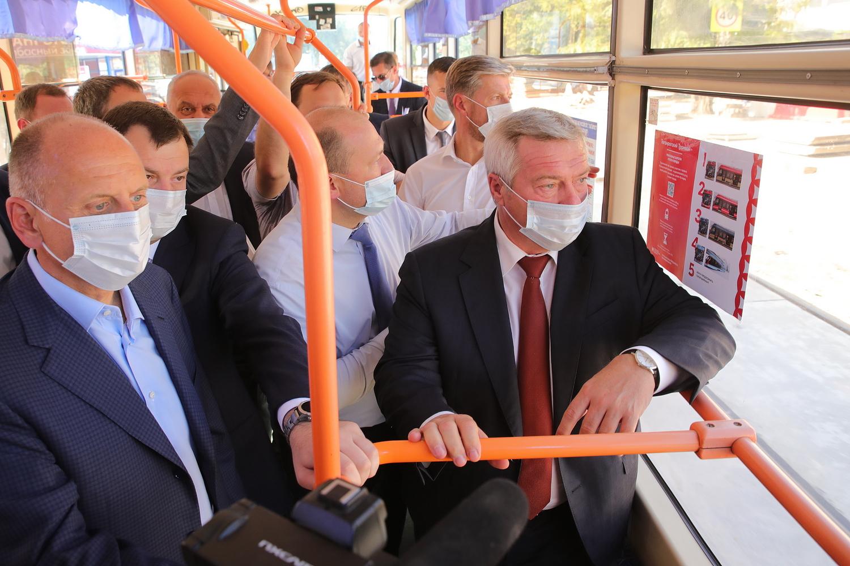 Визит губернатора в Таганрог: «первая миля», парк и скверы