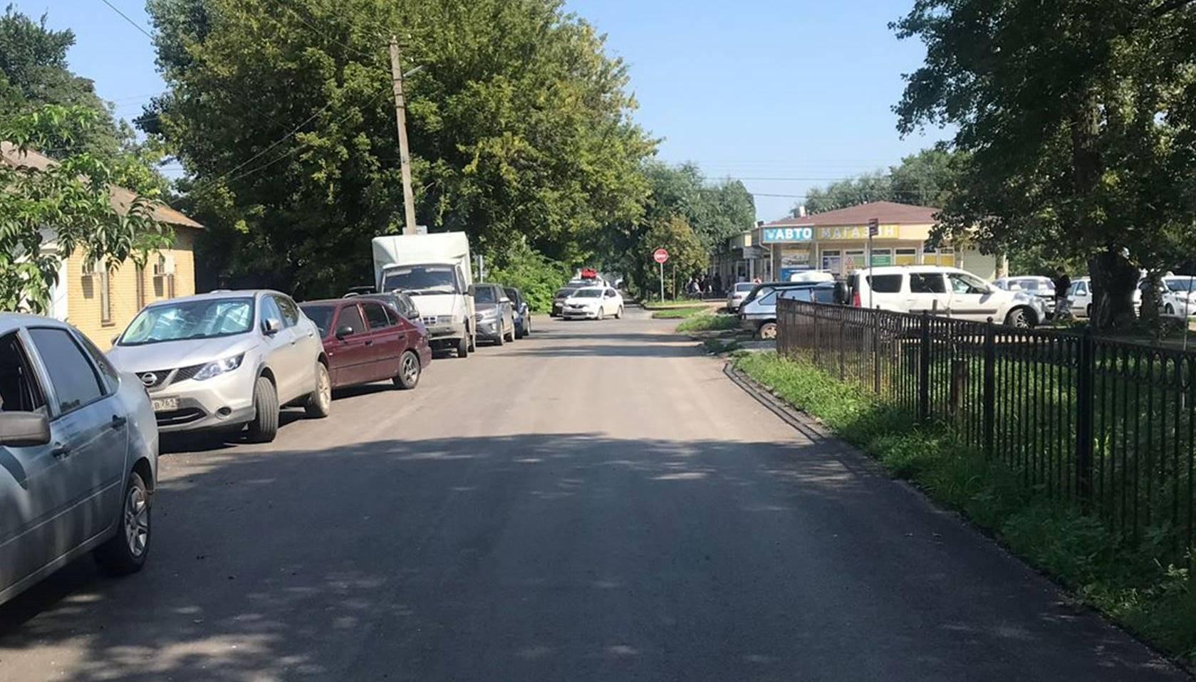 В Таганроге отремонтировали дорогу в Комсомольском переулке