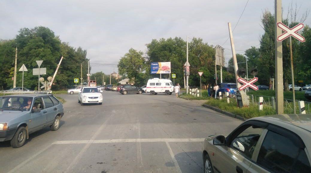 ДТП в Таганроге: пострадала пациентка в машине «скорой помощи»