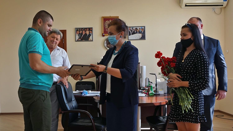 В Таганроге завод «Красный гидропресс» отмечает 114-летие