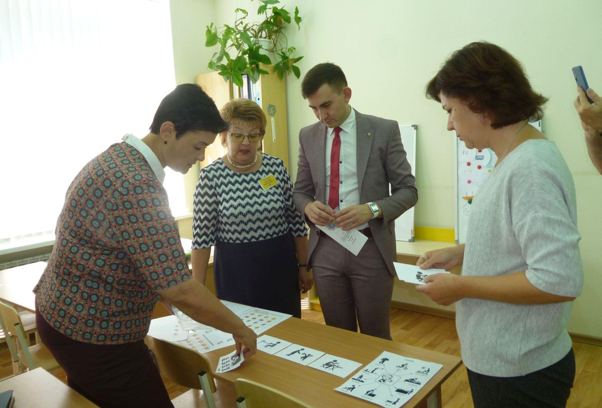 В школе Таганрога открылся «гибкий класс»