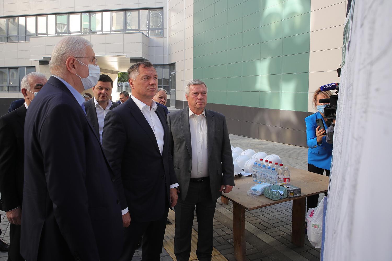 Марат Хуснуллин посетил Ростовскую область с рабочим визитом