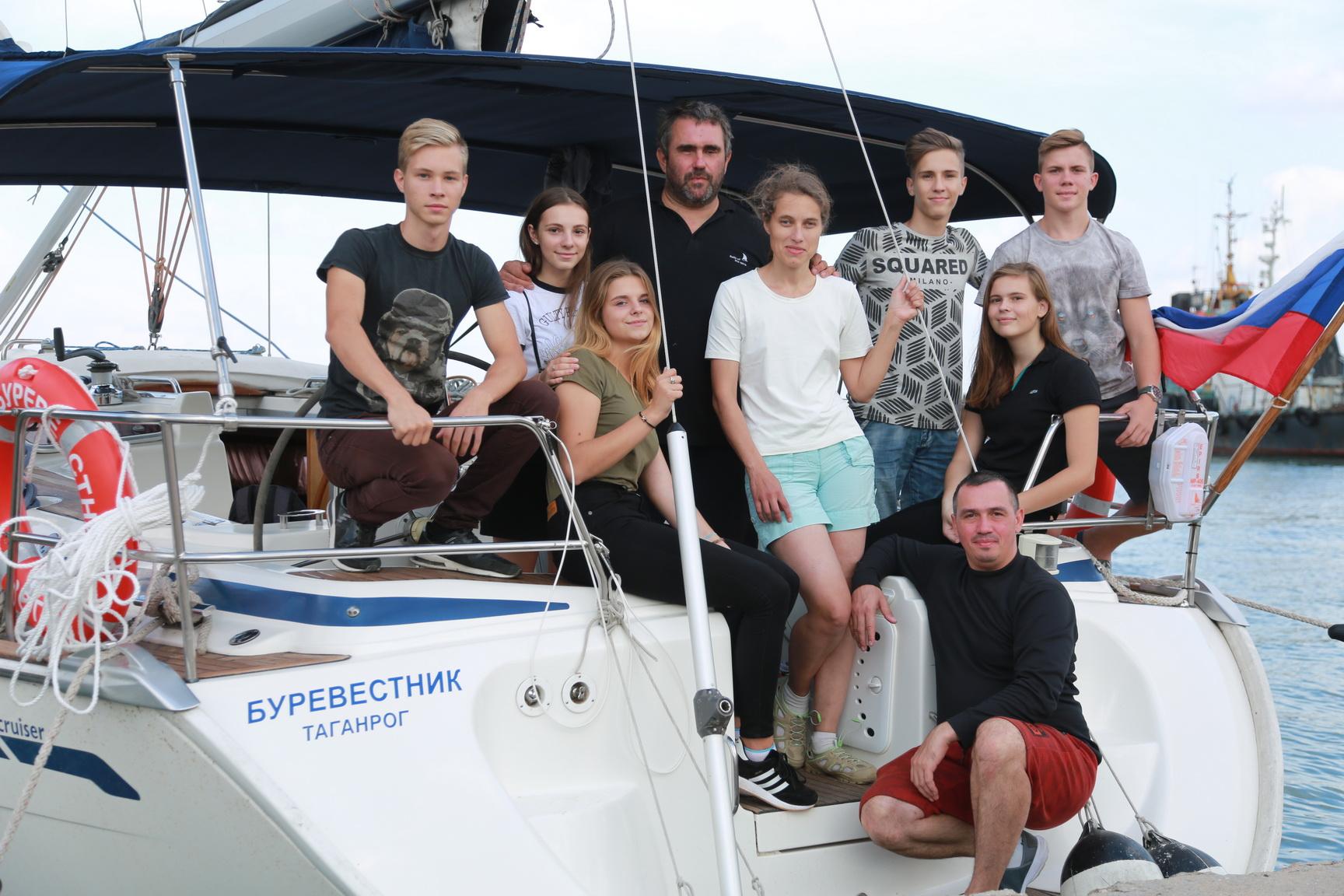 Экспедиция «Паруса духа» стартовала в Таганроге