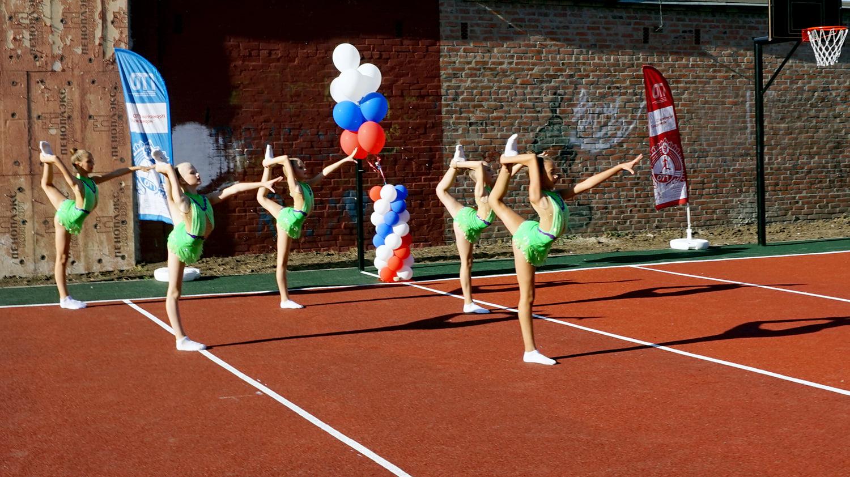 Обновленная спортплощадка открыта в Таганроге