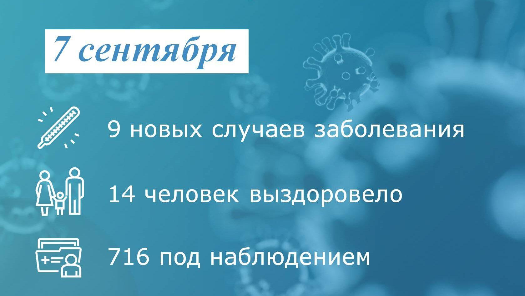 Коронавирус: в Таганроге за сутки заболели 9 человек
