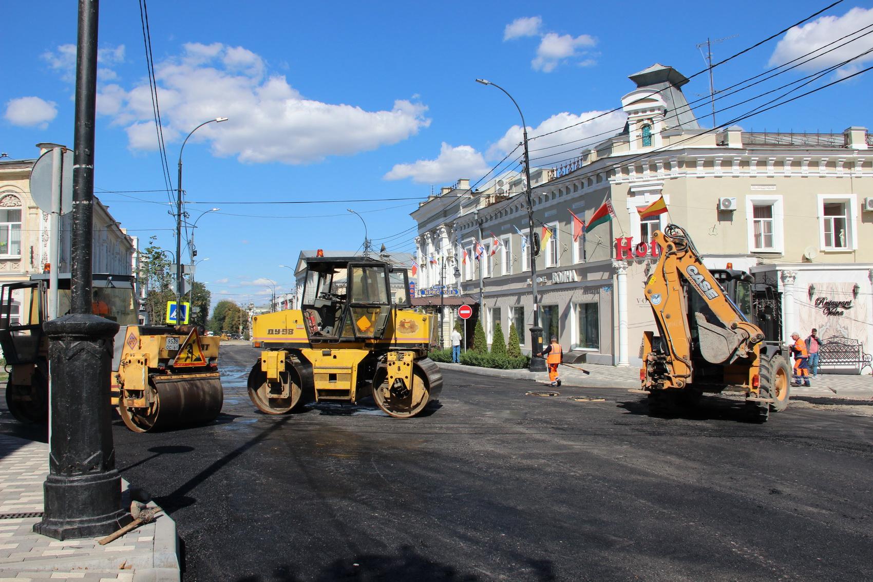 Работы на улице Петровской обещают закончить раньше срока