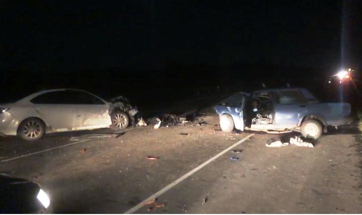 Три машины столкнулись на трассе. Есть погибший