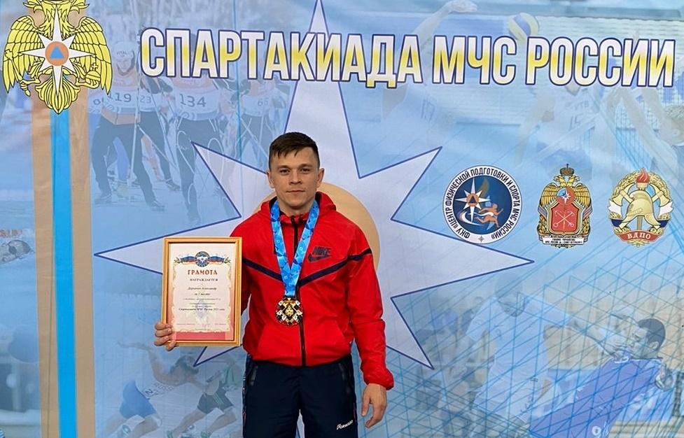 Таганрогский пожарный победил в спартакиаде МЧС России