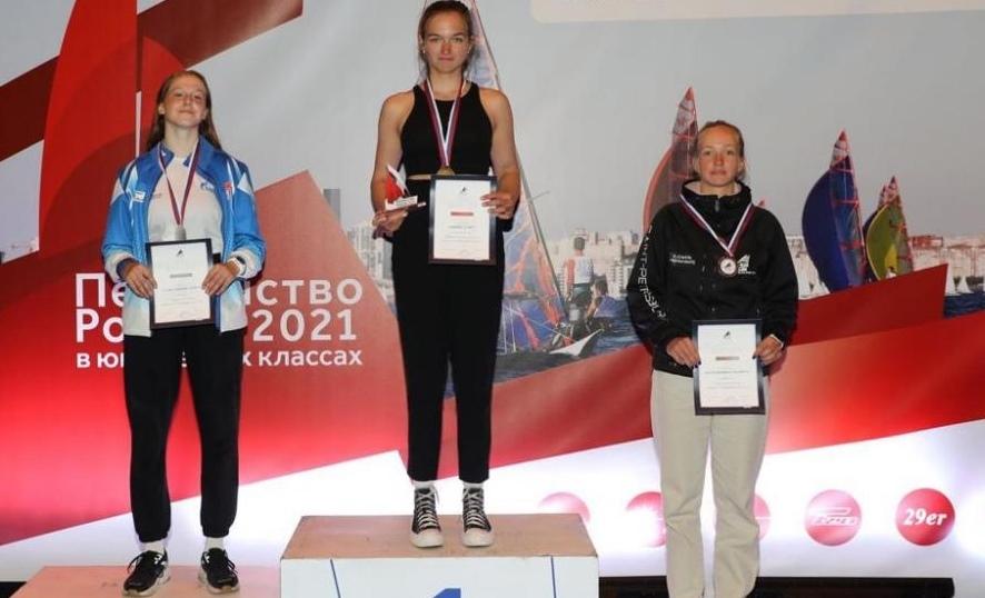 Таганроженка Алиса Ещенко завоевала золото Первенства России