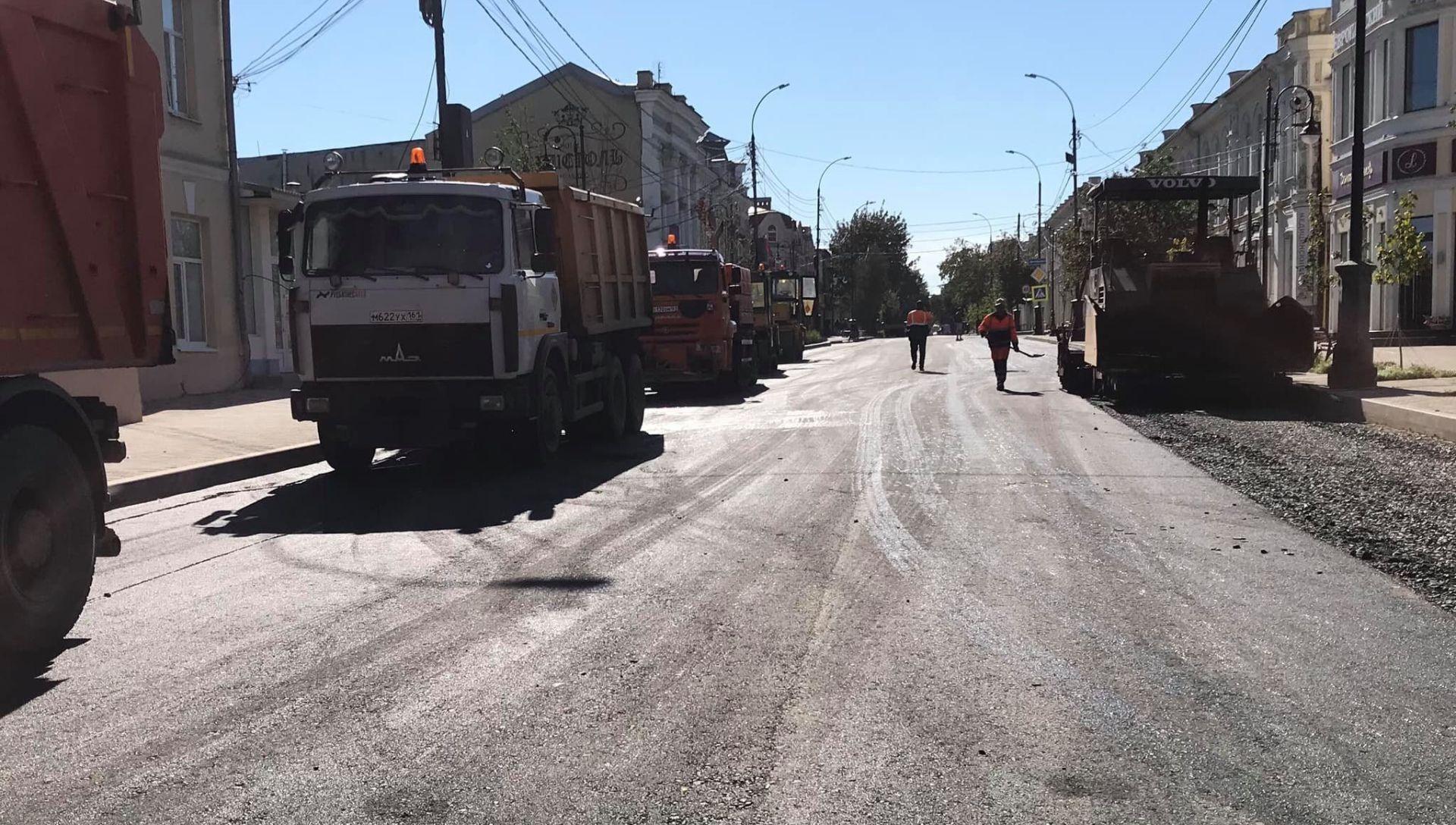 В Таганроге возобновились работы на участке ул. Петровской