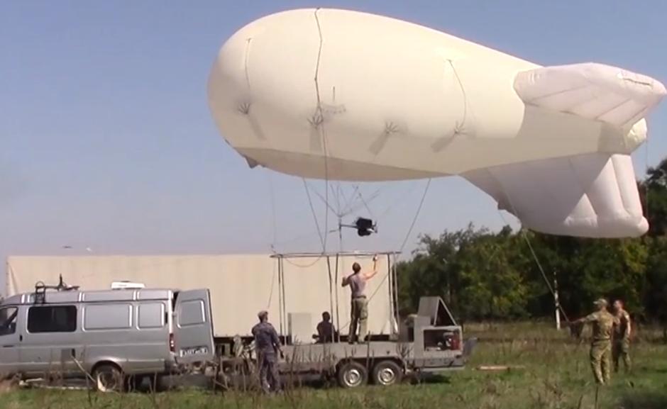 В Ростовской области патрулируют дороги при помощи аэростата