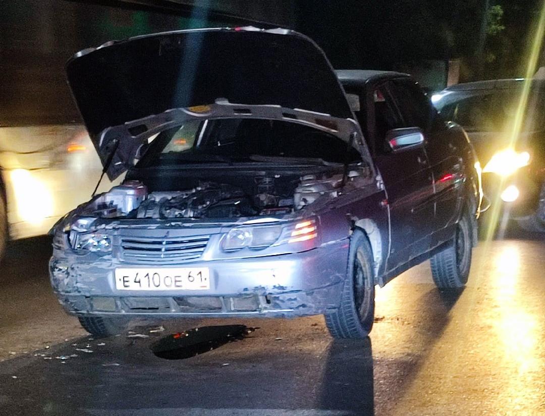В Таганроге произошла авария на улице Транспортной